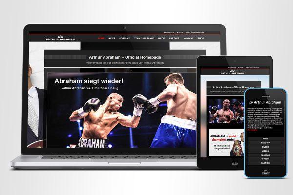 Arthur Abraham – Homepage