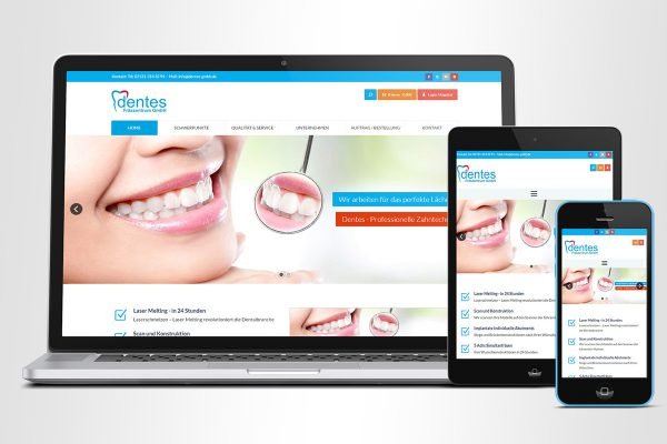 Dentes GmbH – E-Commerce System