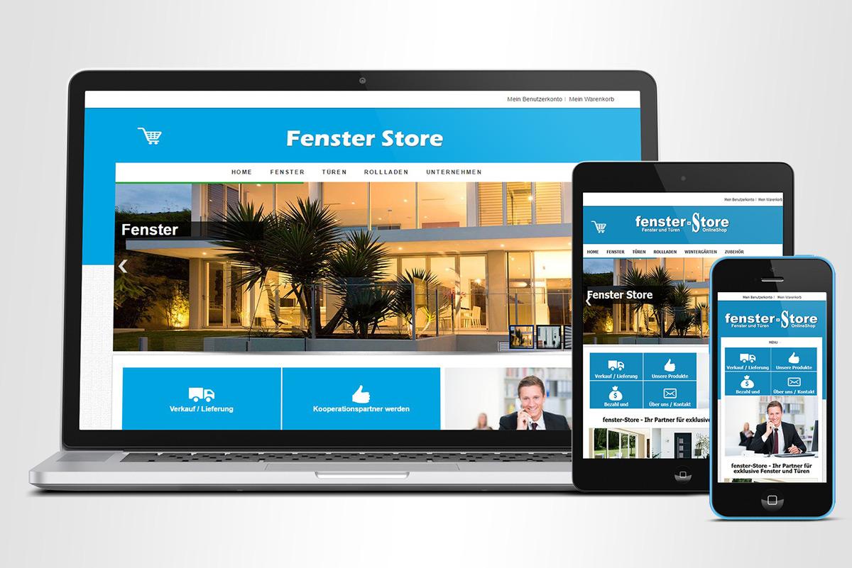 fenster store onlineshop. Black Bedroom Furniture Sets. Home Design Ideas