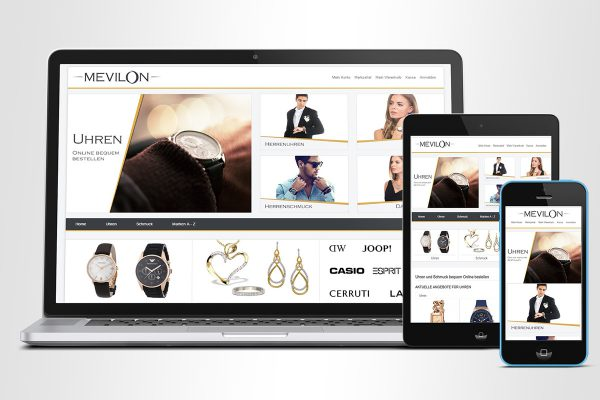 Mevilon – Onlineshop