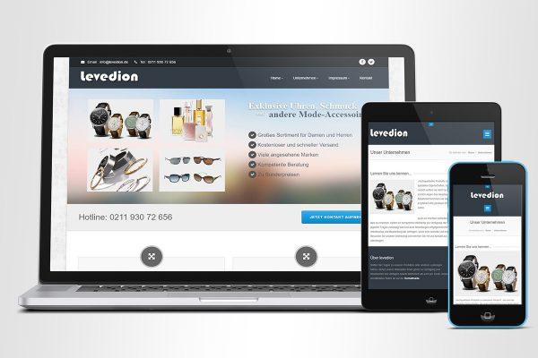 Levedion UG – Homepage